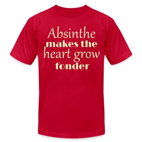 Absinthe Makes The Heart Grow Fonder - Men's Fine Jersey T-Shirt