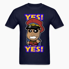 M. Bison - Yes  T-Shirts