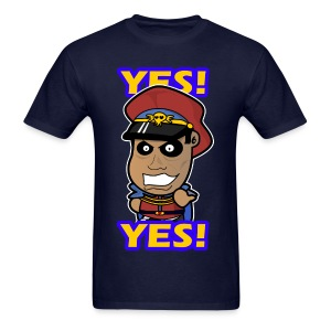 M. Bison - Yes Shirt (Male) - Men's T-Shirt