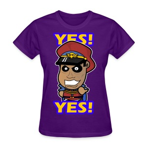 M. Bison - Yes Shirt (Female) - Women's T-Shirt