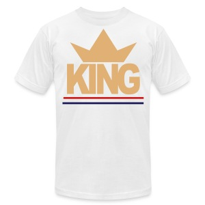 cream converse KING Tank Top - Men's T-Shirt by American Apparel