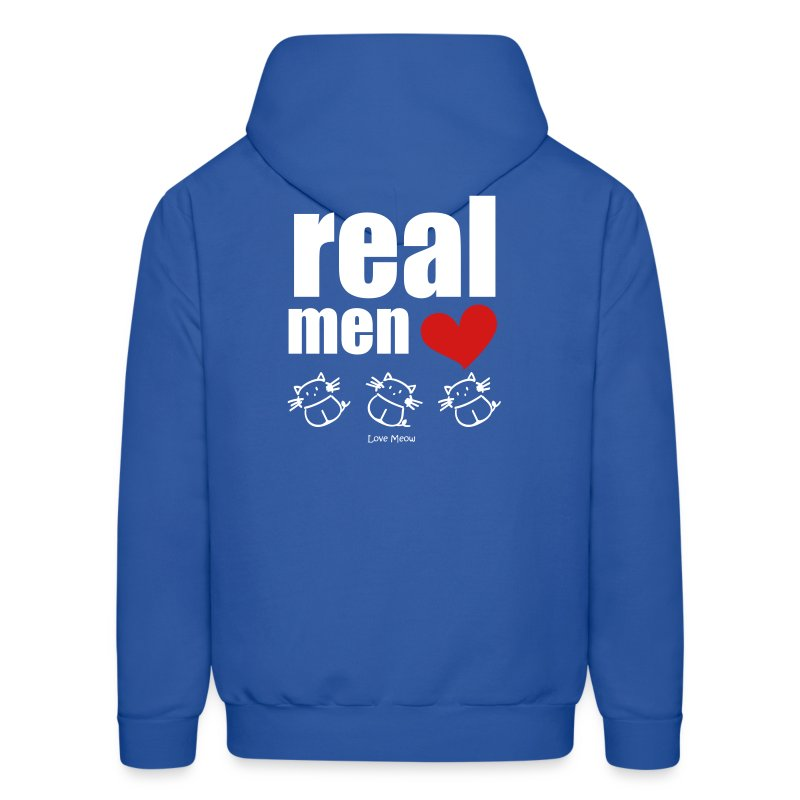 Men's Hoodie - whiskers,whisker,shelter,meow,love meow,love,kittens,kitten,feline,crazy cat lady,cats,cat lady,cat