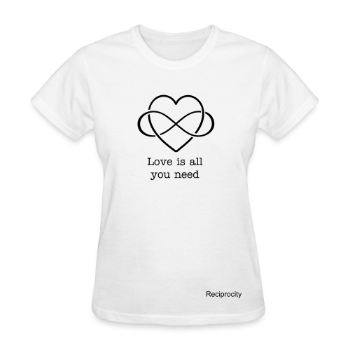 Love is All You Need Tee - Women's T-Shirt