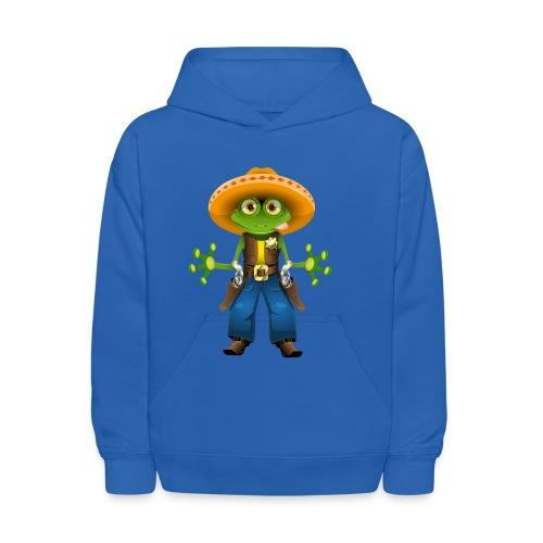 Western Frog Hoodie - Kids' Hoodie