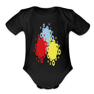 Let's scramble - Short Sleeve Baby Bodysuit