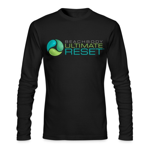 Mens Ultimate Reset long sleeve tshirt - Men's Long Sleeve T-Shirt by Next Level