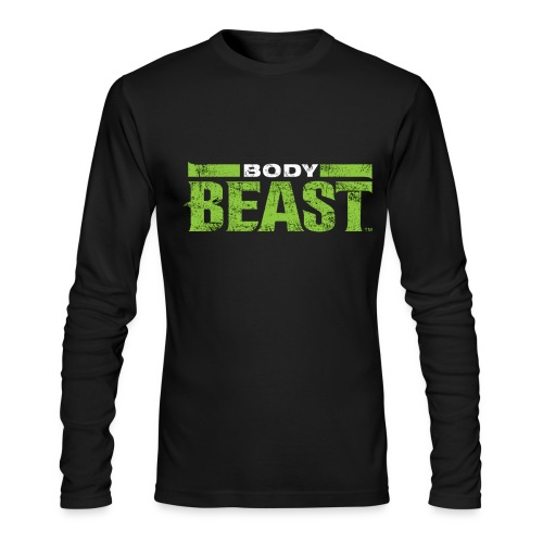 Mens Body Beast long sleeve tshirt - Men's Long Sleeve T-Shirt by Next Level