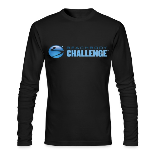 Mens Beachbody Challenge long sleeve  - Men's Long Sleeve T-Shirt by Next Level