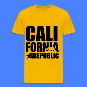 California Republic T-Shirts - Men's Premium T-Shirt