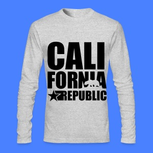California Republic Long Sleeve Shirts - Men's Long Sleeve T-Shirt by Next Level