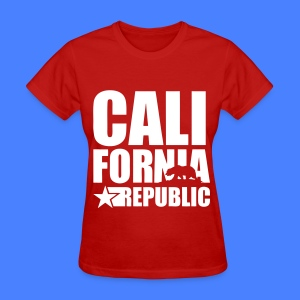 California Republic Women's T-Shirts - Women's T-Shirt