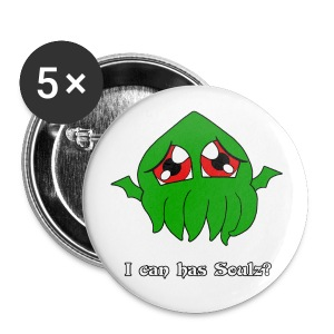 Chibi Lolthulu Button - Small Buttons