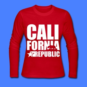 California Republic Long Sleeve Shirts - Women's Long Sleeve Jersey T-Shirt