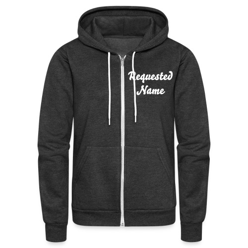 Custom Team Zip-Up hoodie!  - Unisex Fleece Zip Hoodie