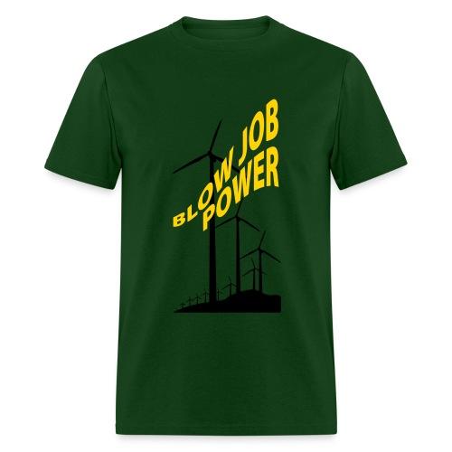 Blow Job Power - Men's T-Shirt