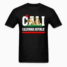 California Republic New Golden T-Shirts
