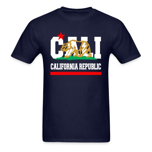 California Republic New Golden - Men's T-Shirt