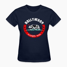 Hollywood California Women's T-Shirts