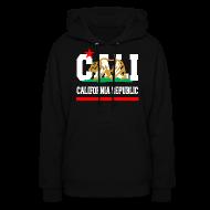 Hoodies ~ Women's Hooded Sweatshirt ~ California Republic New Golden