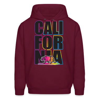 California Multi Colors Hoodies