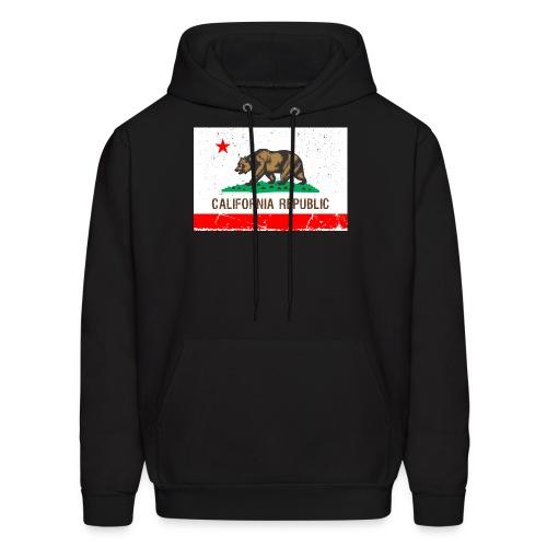 California Vintage Flag R&B - Men's Hoodie