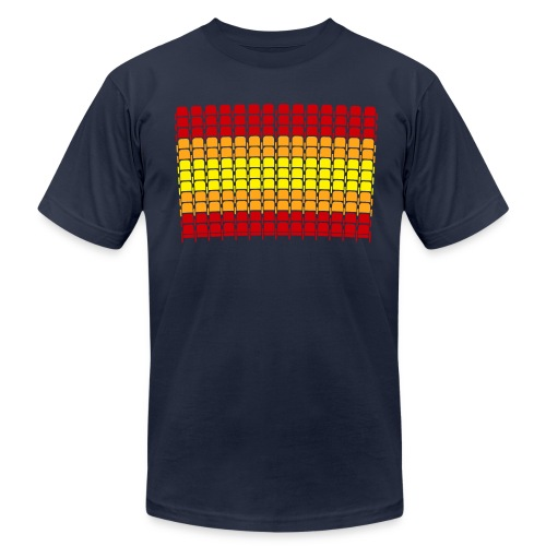 Astrodome Seating - Men's Fine Jersey T-Shirt