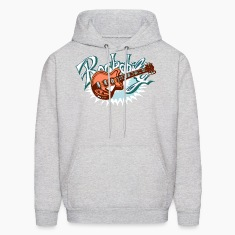 rockabilly logo Hoodies