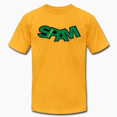 yes_we_spam_vec_3 us T-shirts