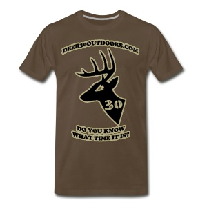 DEER30 Outdoors Premium T (halo) - Men's Premium T-Shirt