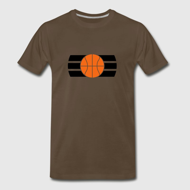 Basketball Logo Design T-Shirts - Men's Premium T-Shirt