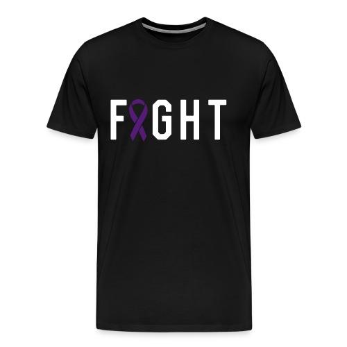 Fight Ribbon Tee - Men's Premium T-Shirt