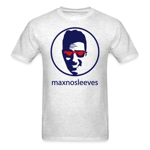 Men's T-Shirt - youtube,no sleeves,merchandise,maxnosleeves,max no sleeves merchandise,max