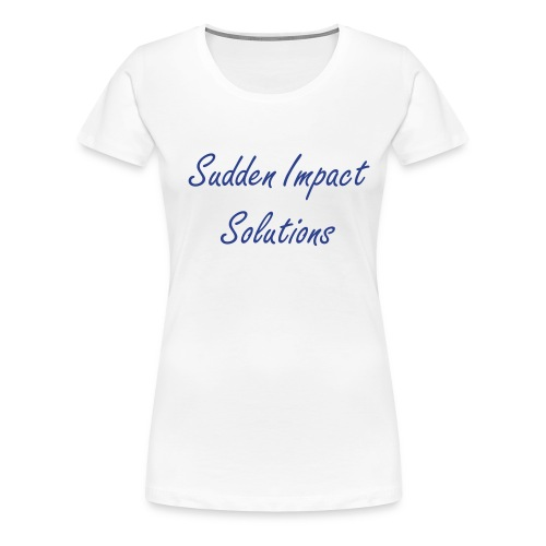 Sudden Impact Solutions  - Women's Premium T-Shirt