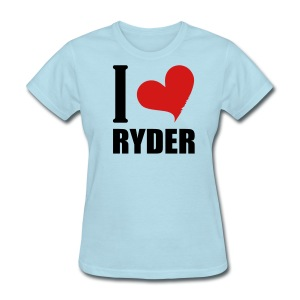 I Heart Ryder - Women's T-Shirt