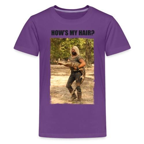 How's My Hair? - Kids' Premium T-Shirt