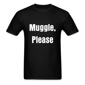 Muggle, Please - Mens - Men's T-Shirt