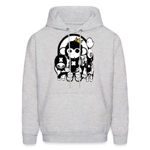 monkeys - Men's Hoodie