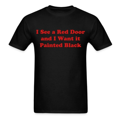 Red Door Shirt - Men's T-Shirt