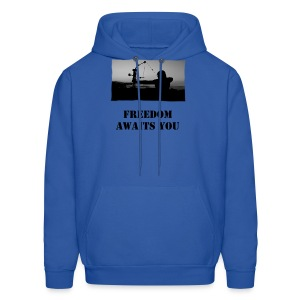 Freedom Awaits You - Men's Hoodie
