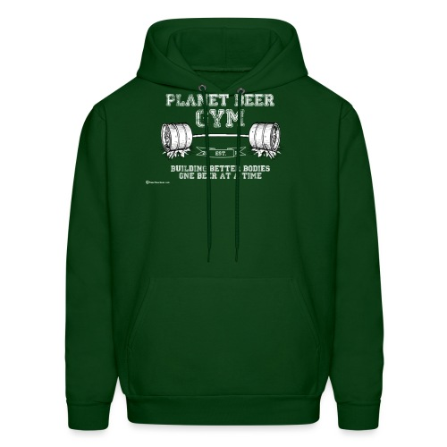Planet Beer Gym Men's Hooded Sweatshirt - Men's Hoodie