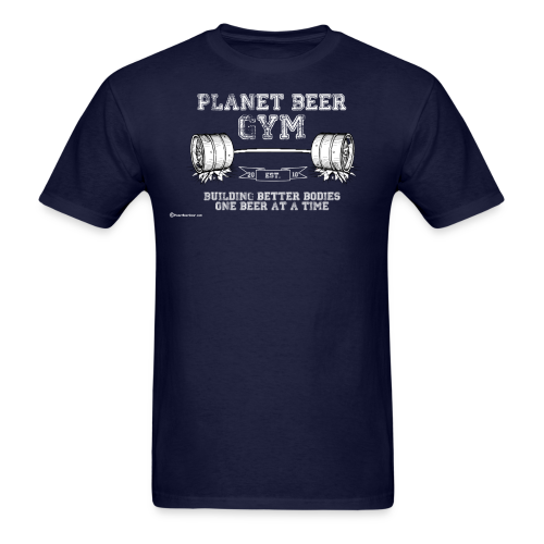 Planet Beer Gym Men's T-Shirt - Men's T-Shirt