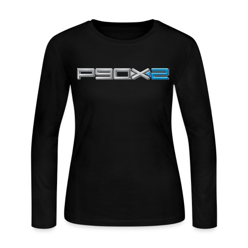 Womens P90X2 long sleeve tshirt - Women's Long Sleeve Jersey T-Shirt
