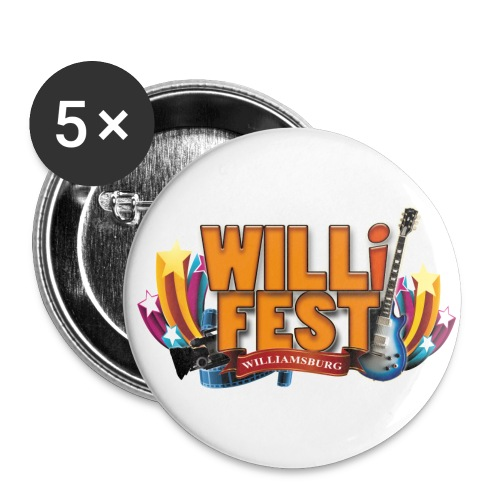 WILLiFEST Buttons - Large Buttons