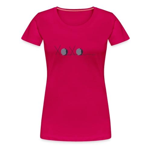 XOXO Knitting - Women's Premium T-Shirt
