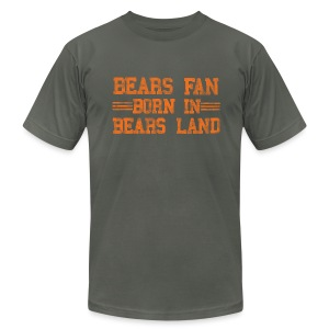 Bears Fan Bears Land - Men's T-Shirt by American Apparel