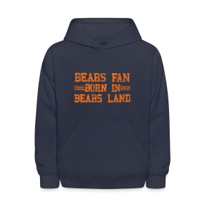 Bears Fan Bears Land - Kids' Hoodie