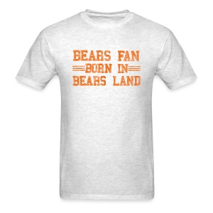 Bears Fan Bears Land - Men's T-Shirt