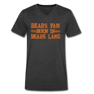 Bears Fan Bears Land - Men's V-Neck T-Shirt by Canvas