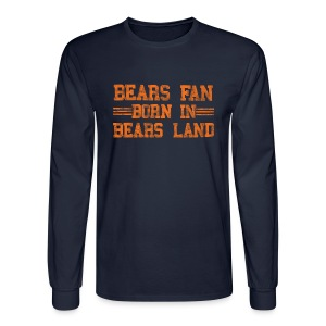 Bears Fan Bears Land - Men's Long Sleeve T-Shirt