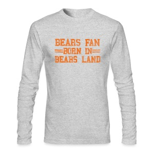 Bears Fan Bears Land - Men's Long Sleeve T-Shirt by Next Level